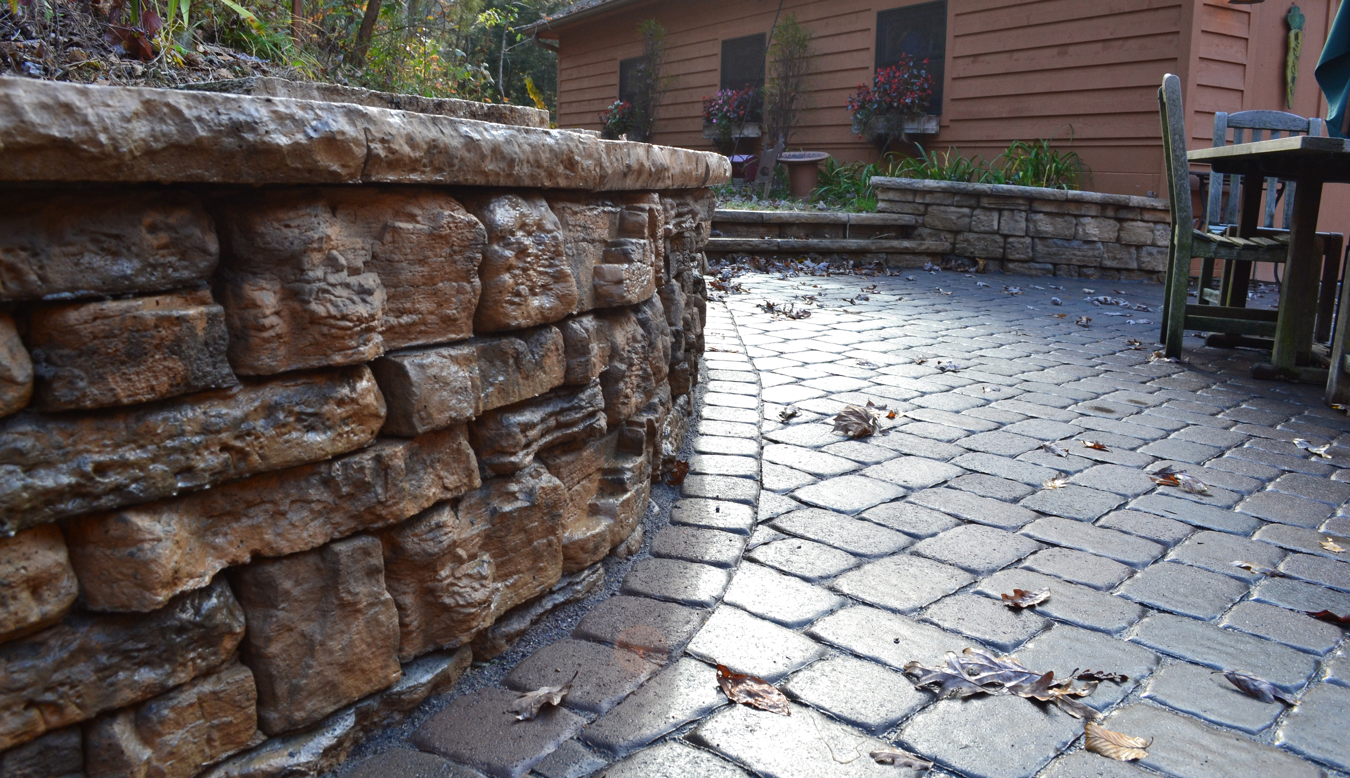 JS goode landscaping Retaining + Decorative Walls